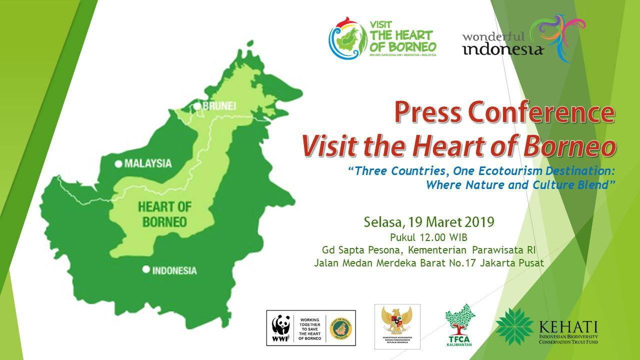 Press Conference Visit the Heart of Borneo